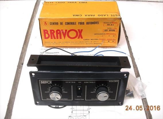 Centro De Controle Bravox Bd-26s De 1977 Novo Na Embalagem.