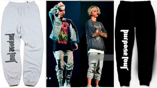 Pantalon Justin Bieber Purpose Tour Alternativo Ropa Unisex Mercado Libre