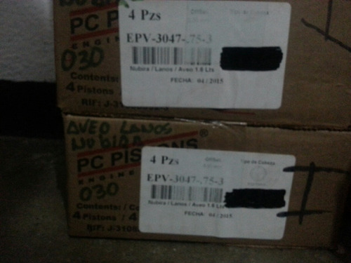 Piston A 030 Para Aveo Lanos Nubira 1.6