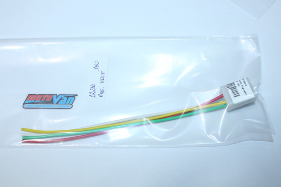 Chicote Regulador Voltagem Titan 150 - Plug Conector