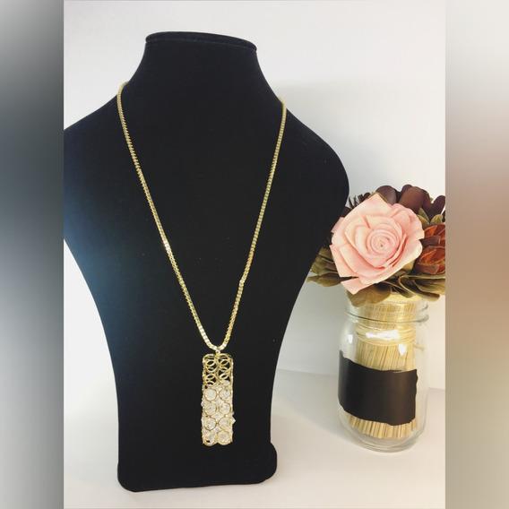 !!collar Largo Moda Vintage!!