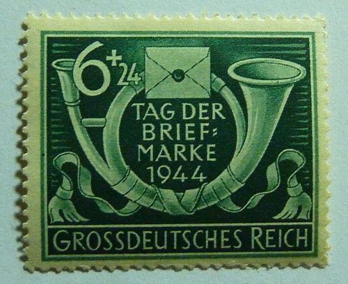 Imagen 1 de 1 de Alemania 1944 : Tercer Reich, Dia De Estampilla, Nazi ; Op4