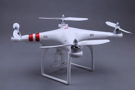 Drone Dji Phantom C/ Suporte Para Gopro E Com Gps