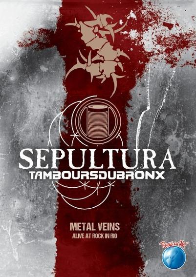 Sepultura Metal Veins Alive Rock In Rio - Dvd Novo Lacrado