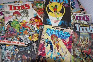 Revistas Os Novos Titãs - Complete Sua Coleção