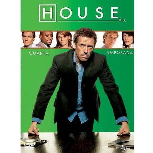 House Md - 4ª Temporada -box Com 4 Dvds Raro Novo Original