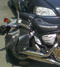 Moto Chopper Clásica W 2001, 250cc, 11,000kms, Impecable !