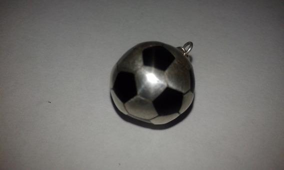 Balon De Futbol En Plata Ley 925