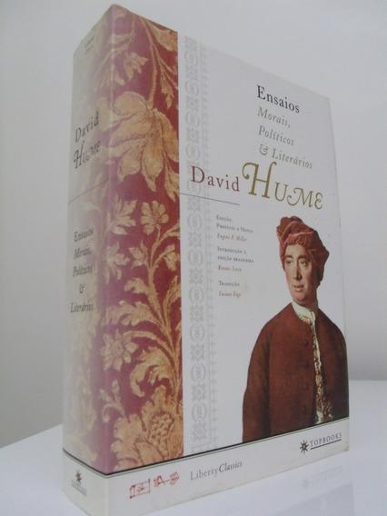 Livro - Ensaios Morais, Políticos E Literários - David Hume