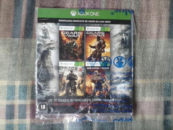 Xbox One - Coleção Completa Gears Of War Via Download