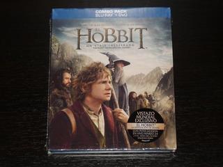 El Hobbit Un Viaje Inesperado Blu - Ray + Dvd Combo Pack