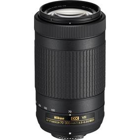 Nikon Af-p Dx 70-300mm F/4.5-6.3g Ed Vr - Loja Platinum