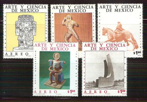 Imagen 1 de 1 de México 1976  : Arte Y Ciencia - Esculturas