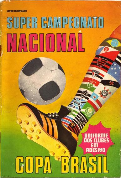 Álbum Campeonato Nacional Copa Brasil 1977 - Escaneado