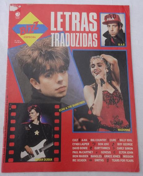 Bizz Letras Traduzidas Nº 26-l - David Bowie - Cyndi Lauper