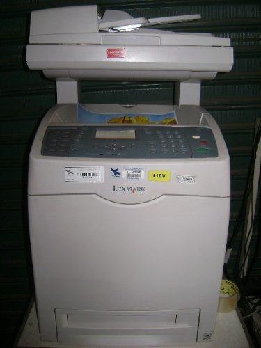 Impressora Laser Colorida, Lexmark X560n, Super Conservada