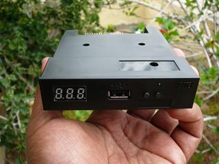 Emuladora De Discos Floppy A Usb Para Teclados Y Bordadoras