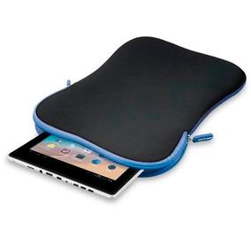 Case Neoprene Smart Ziper, Para Tablet 10 Azul - Multilaser