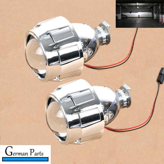 Par Kit Projetor Farol, Bi-xenon Para H7 E H4 Retrofit Carro