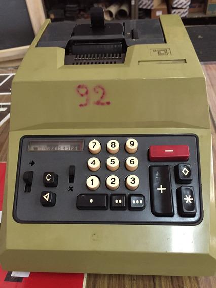 Maquina Calcular Eléctrica Olivetti