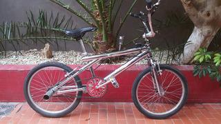 Bicicleta Bmx Freestyle Cromada Rodado 20 Importada De Usa