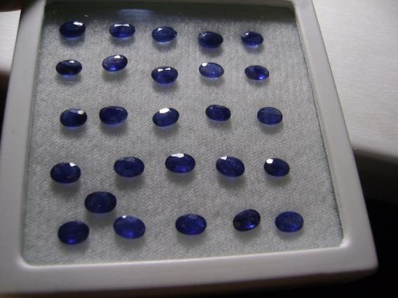 Natural Pedras Safira Oval 6,1 X 4,1 Mm 200 A Unidade