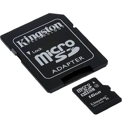 Cartão Kingston Micro Sdhc Card Classe 4 16 Gb