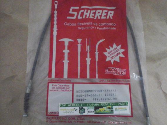 Cabo Descompressor Yamaha Xt 600z Tenere 600 Scherer Orig