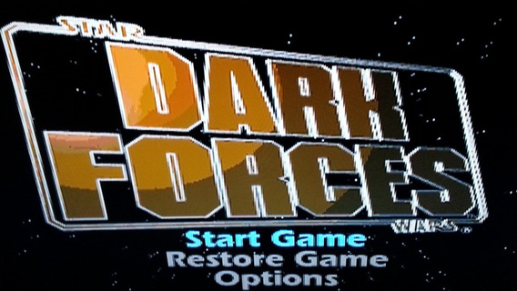 Jogo Ps One Star Wars Dark Forces Envio Cr