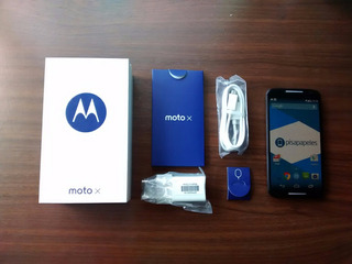 Motorola Moto X2 4g Bambu Edition Negro En Caja Version4