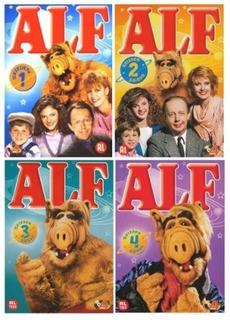 Alf O E.teimoso / A Série Completa / 1ª, 2ª, 3ª E 4ª Temps.