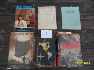 Lote Antiguos Libro Guerra Revisionismo Situación Internacio