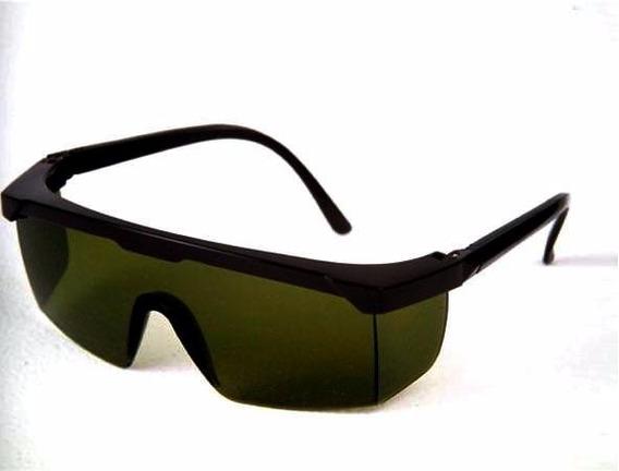 Óculos De Proteção Segurança Jaguar Verde Ir 5 Kalipso