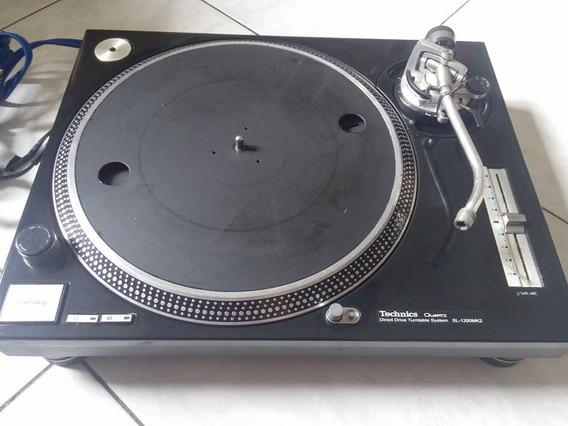 Toca Disco Technics Sl 1200 Mk2 O Par ,pick-up Dj Serato,cdj