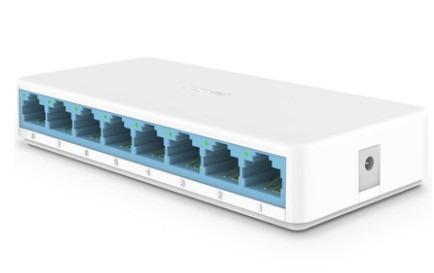Hub 8 Portas Rede Utp Ethernet Modem Roteador Blu-ray Dvr Pc
