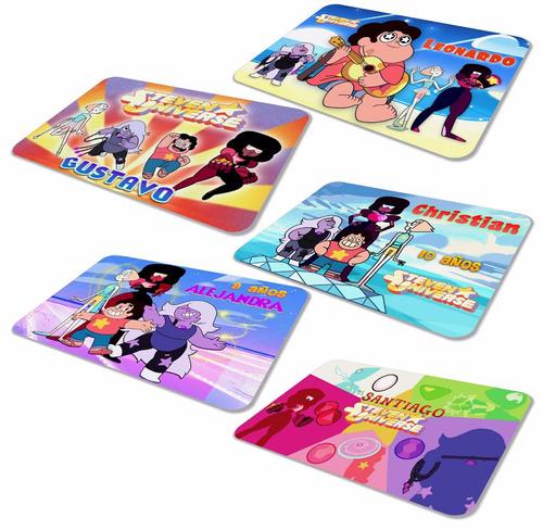 Imagen 1 de 2 de 30 Manteles De Steven Universe Fiesta Infantil Envío Gratis!