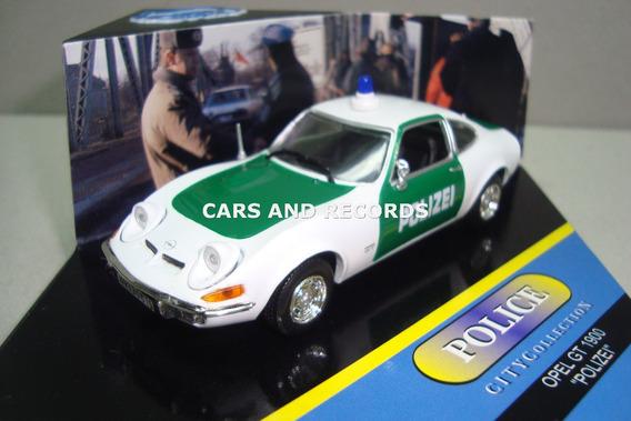 Opel Gt 1900 Polizei - City Vitesse 1/43