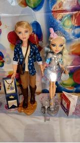 Boneca Ev After High Alistair ,rebel Darling- Mattel 2 Peças