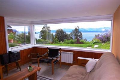 Departamento En Bariloche Con Espectacular Vista Al Lago