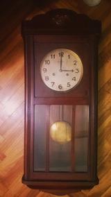 4d392e737cd2 Reloj Pared Pendulo Antiguo - Relojes Antiguos De Pared en Capital ...
