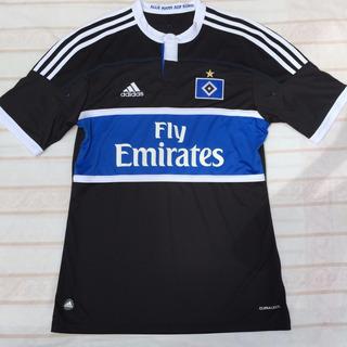 V13934 Camisa adidas Hamburgo Away 11/12 M Preta Fn1608