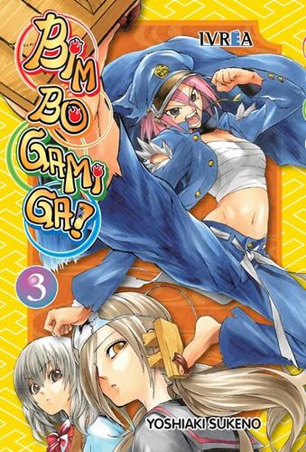 Manga Bimbogami Ga! Tomo 03 - Ivrea