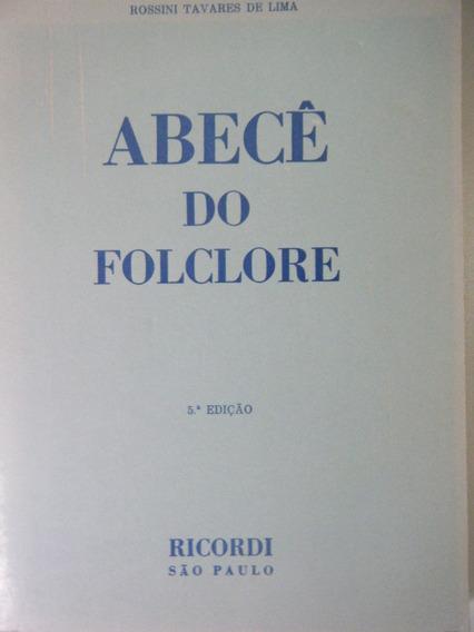 Livro Abecê Do Folclore - Rossini Tavares De Lima Imagem 6