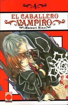 Manga El Caballero Vampiro Tomo 04 - Panini