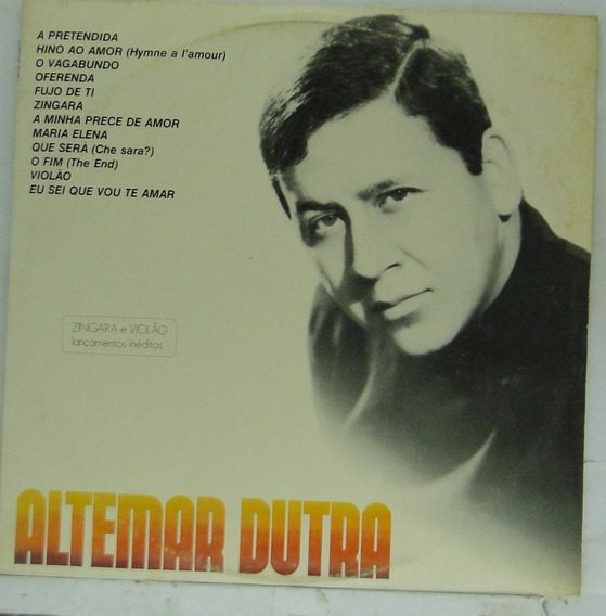 Lp Altemar Dutra - Sucessos Vol.4 - A313