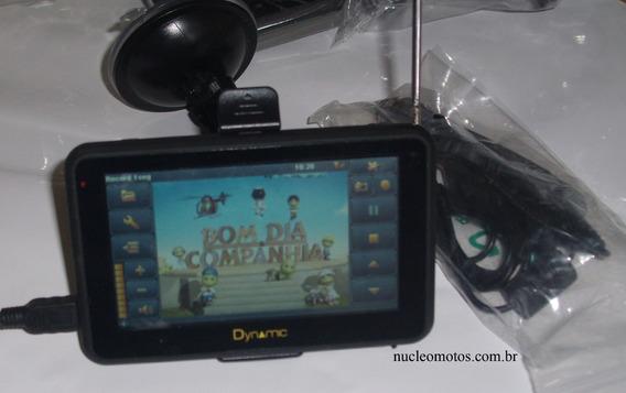 Gps Dynamic,tela De 5.0 Tv Digital Com Acessórios