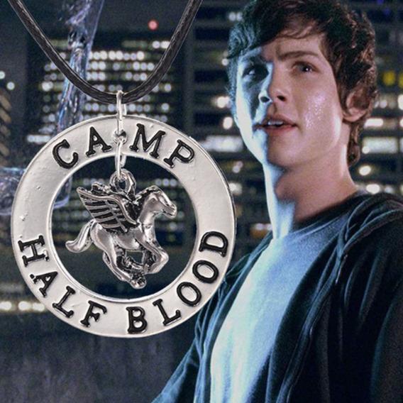 Colar Percy Jackson Acampamento Meio Sangue Cavalo