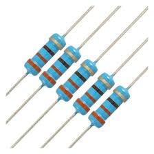 Resistor Metal Film 330r 1w Kit 10 Unidades