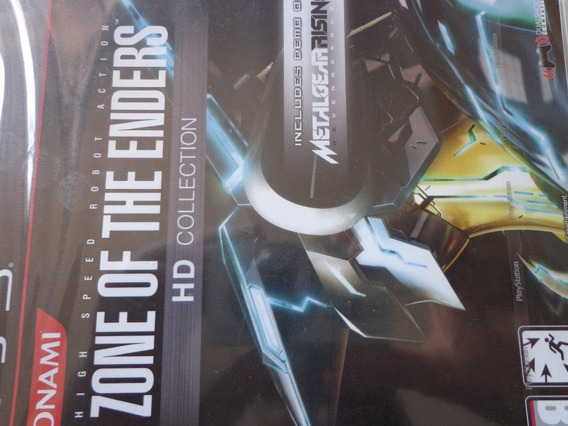 Zone Of The Enders Hd Collection Ps3 Midia Fisica Lacr. $56