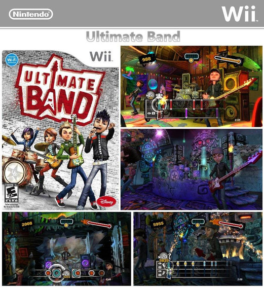 Jogo Ultimate Band Para Wii
